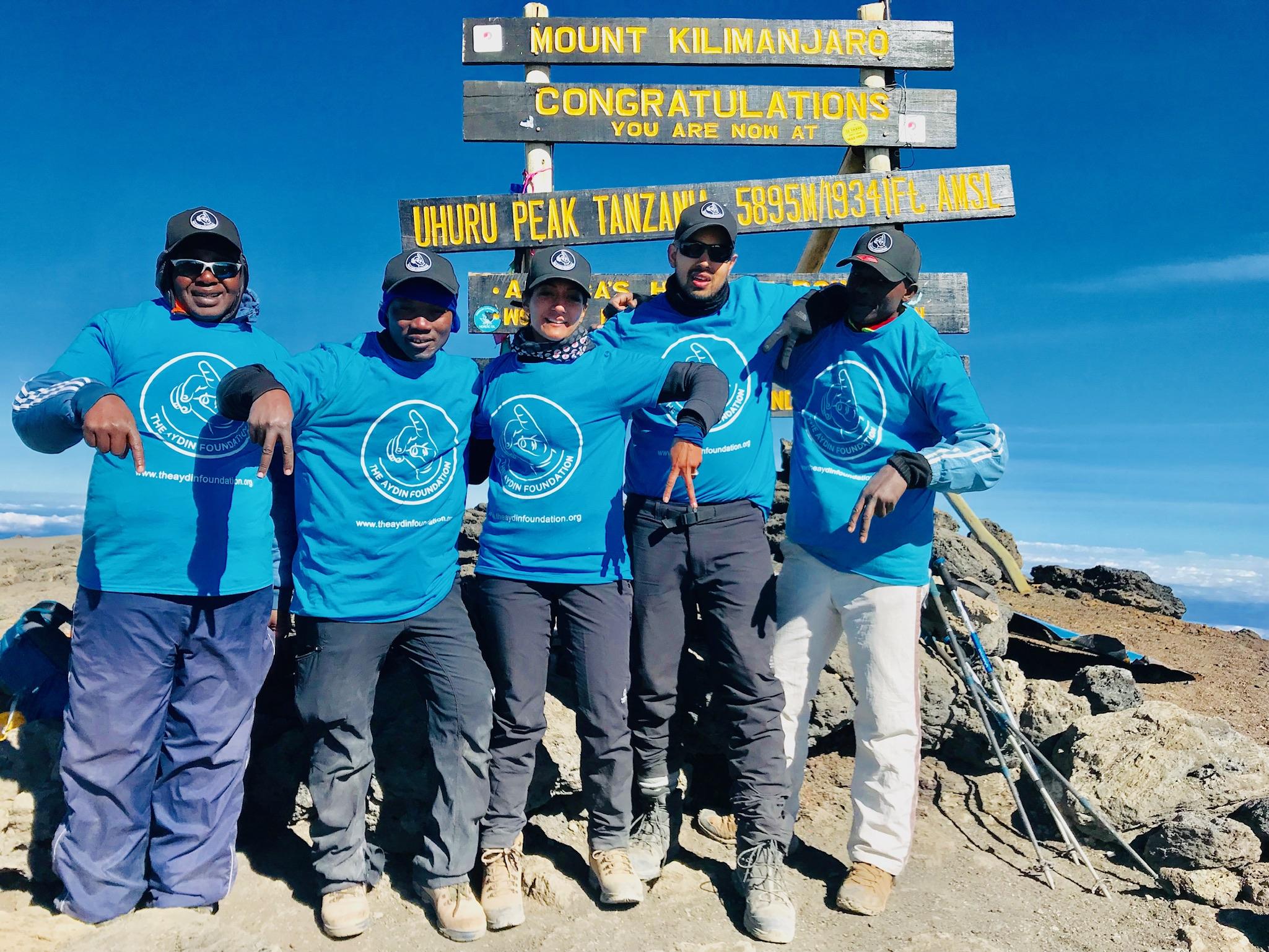 Bobby & Rabiya Conquer Mount Kilimanjaro